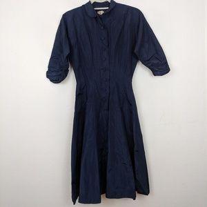 Very vintage r & k vinyl 60s pinup dress